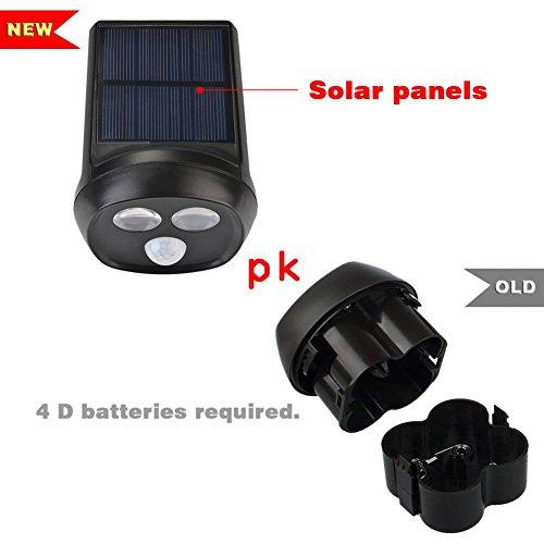 deallink solarbetriebene led au enleuchte mit. Black Bedroom Furniture Sets. Home Design Ideas