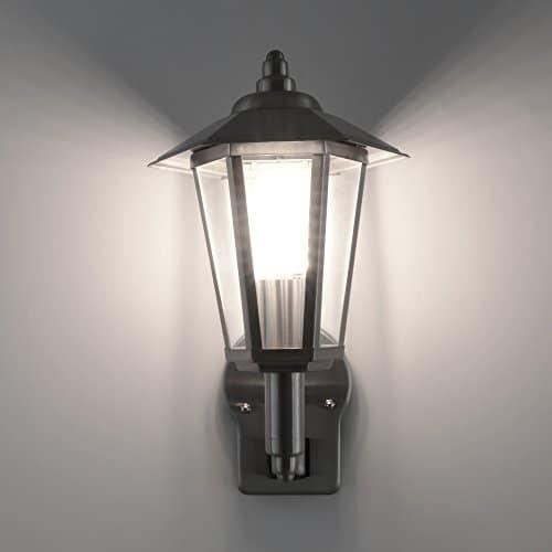 aussenleuchte aussenlampe wandlampe wandleuchte edelstahl 601 mit bewegungsmelder 601a1. Black Bedroom Furniture Sets. Home Design Ideas